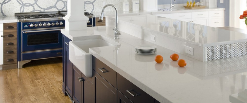 kitchen countertops - sterling kitchen design